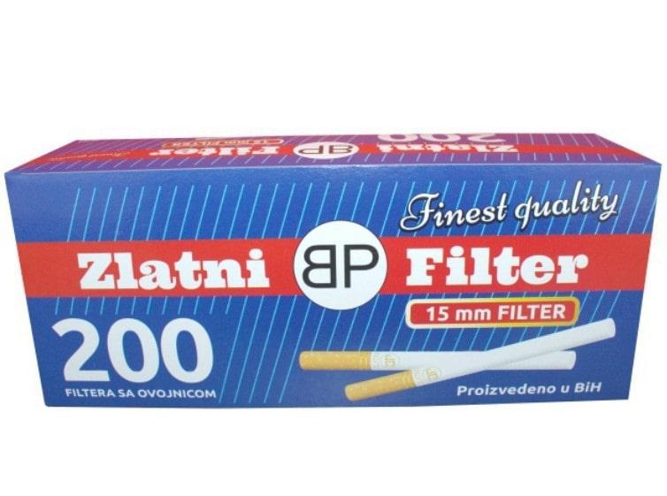 Zlatni Filter filter tubes 200/1 15mm