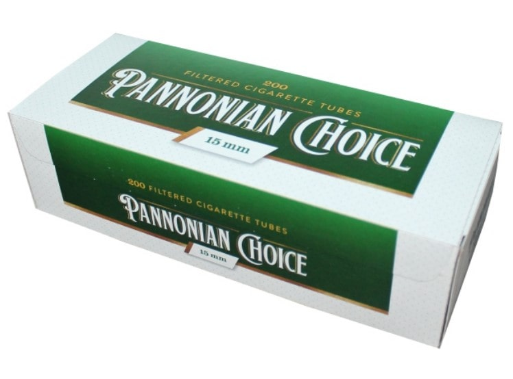Pannonian Choice filter tubes 200/1 15mm