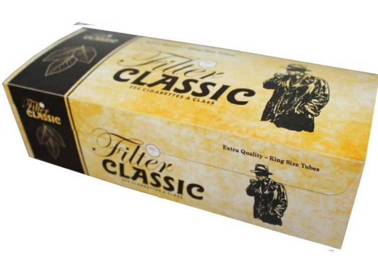 Classic filter tubes 200/1 15mm