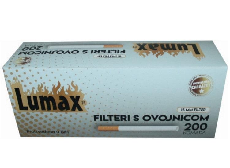 Lumax filter tubes 200/1 15mm