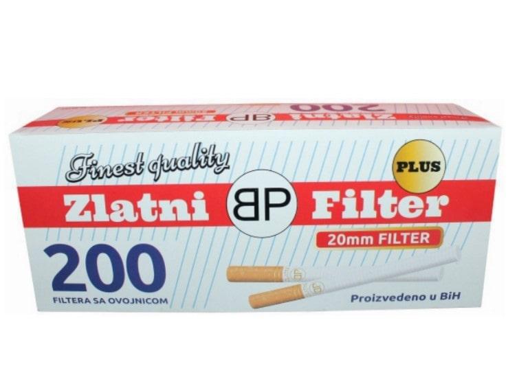 Zlatni Filter filter tubes 200/1 20mm
