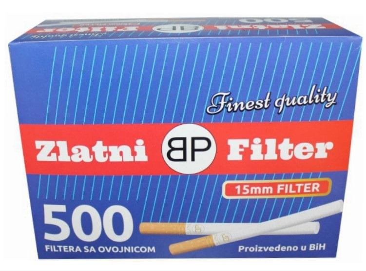 Zlatni Filter filter tubes 500/1 15mm