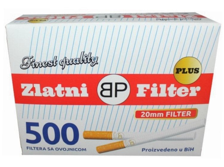 Zlatni Filter filter tubes 500/1 20mm