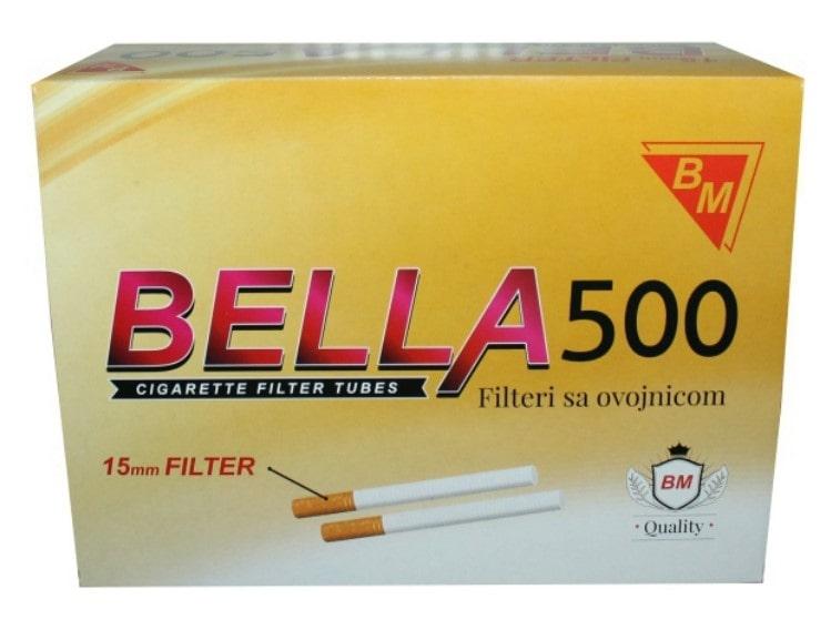 Bella filter tubes 500/1 15mm