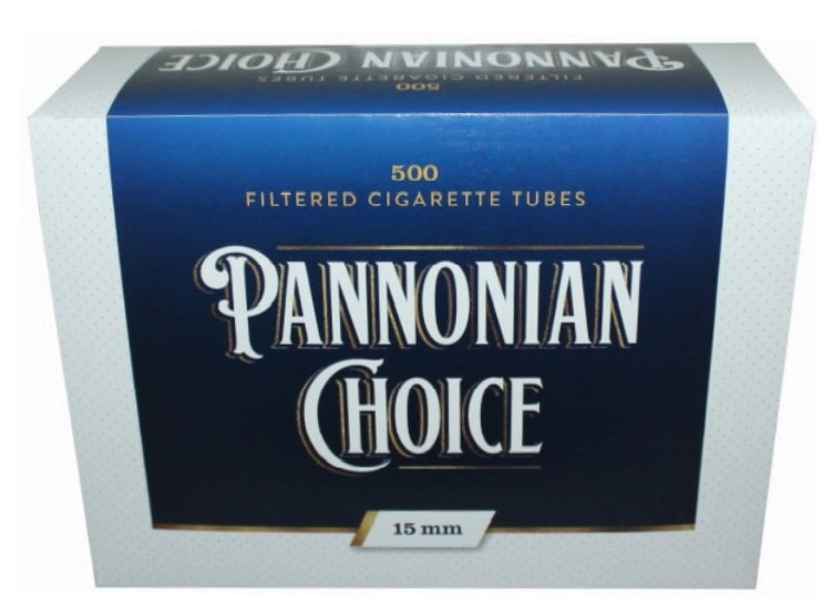 Pannonian Choice filter tubes 500/1 15mm