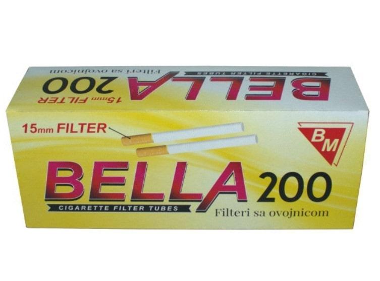 Bella filter tubes 200/1 15mm