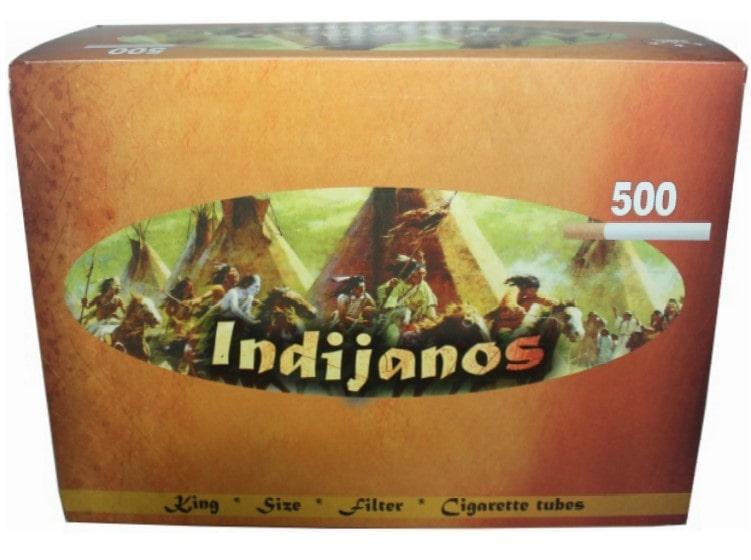 Indijanos filter tubes 500/1 15mm