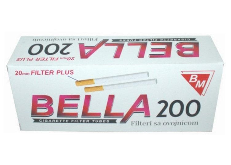 Bella filter tubes 200/1 20mm